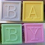 Baby Glycerin Soap Scented Alphabet Blocks