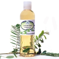 Natural Bath Body Baby Massage Oil Lavender Chamomile
