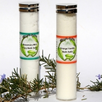 Natural Fizzy Bath Salts Lavender Lime Grapefruit Rosemary Orange Vanilla
