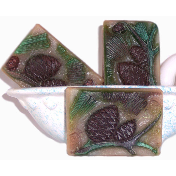 Natural Black Spruce Handmade Artisan Soap