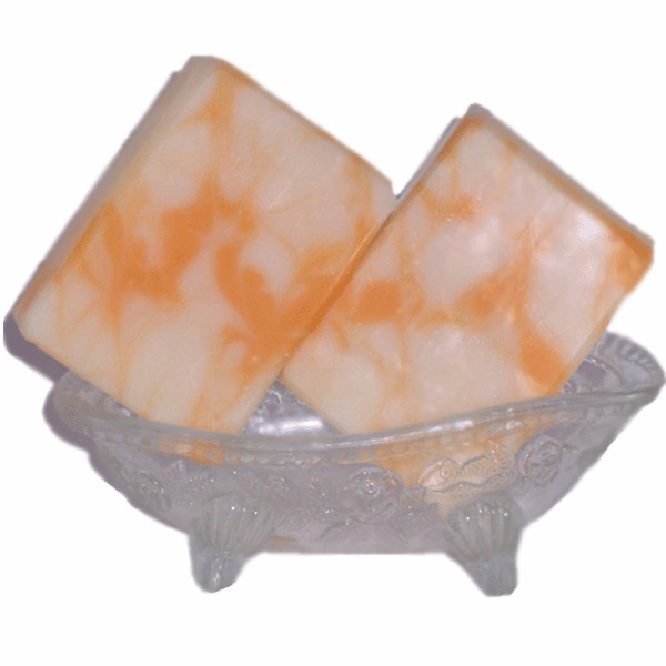 soap peach square