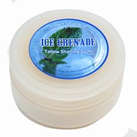 shaving soap ice grenade menthol spearmint peppermint