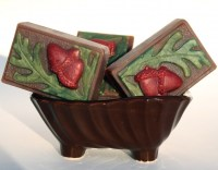 Handmade Artisan Soap Acorn Fall Harvest Spices