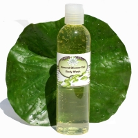 Natural Almond Body Wash Shower Gel Organic Aloe