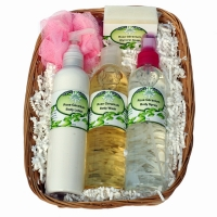 Body Wash, Body Spray, Lotion, Glycerin Soap, Sponge