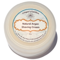Natural Argan Shaving Cream Creme Soap