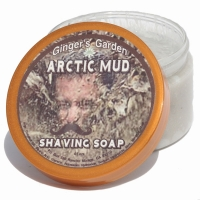 Arctic Mud Clay Menthol Natural Shaving Soap