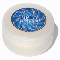 Mandala Natural Artisan Shaving Soap