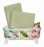 Natural Agave Aloe Green Handmade Soap