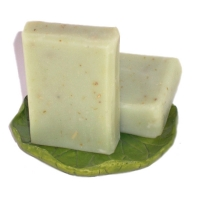Herbal Handmade Botanical Soap Lavender Mandarin Rosemary Spearmint
