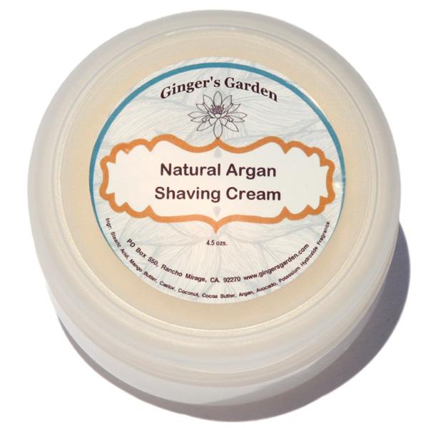 Men S Shaving Cream Wet Shave Soap Artisan Natural Argan