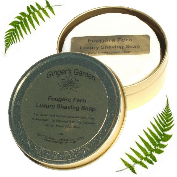 Fougere Fern Natural Wet Shaving Soap