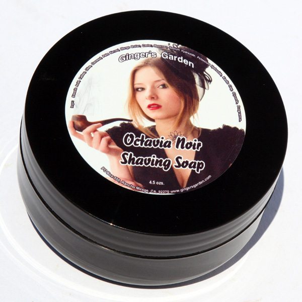 Octavia Noir Tobacco Shaving Soap Tallow