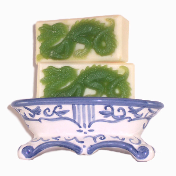 Handmade Soap Fresh Leaves Sweet Grass