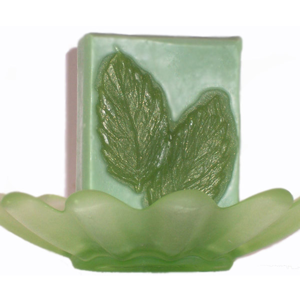 Spearmint Leaf Natural Handmade Artisan Soap